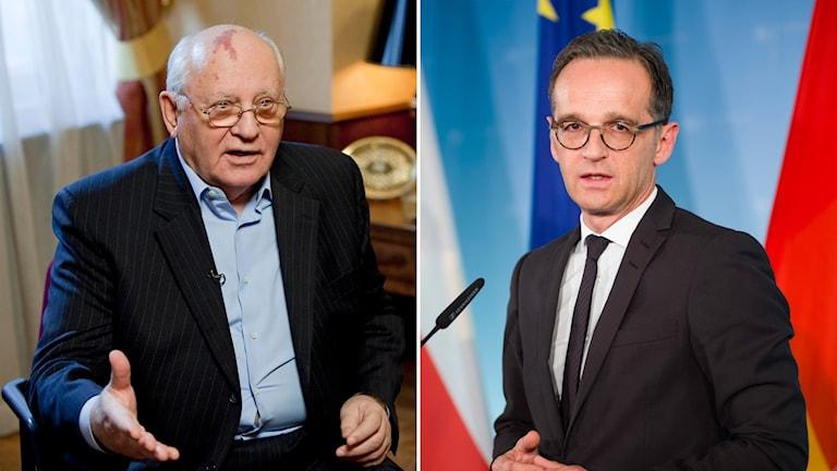 Gorbatjov och Heiko Maas