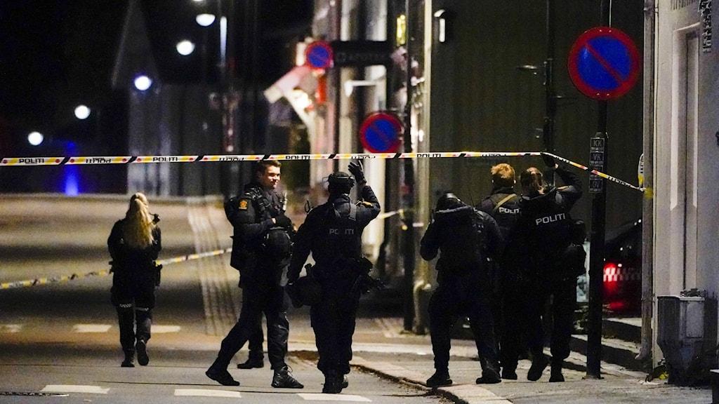Polis i Kongsberg.