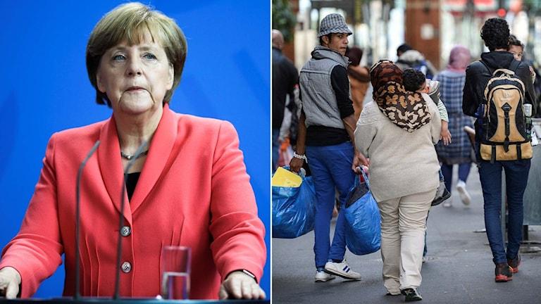 Tysklands förbundskansler Angela Merkel. Foto: TT
