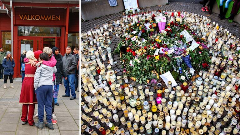 Drei Menschen tötete der junge Attentäter an der Kronan-Schule in Trollhättan - aus Unzufriedenheit über die schwedische Einwanderungspolitik (Foto: TT)