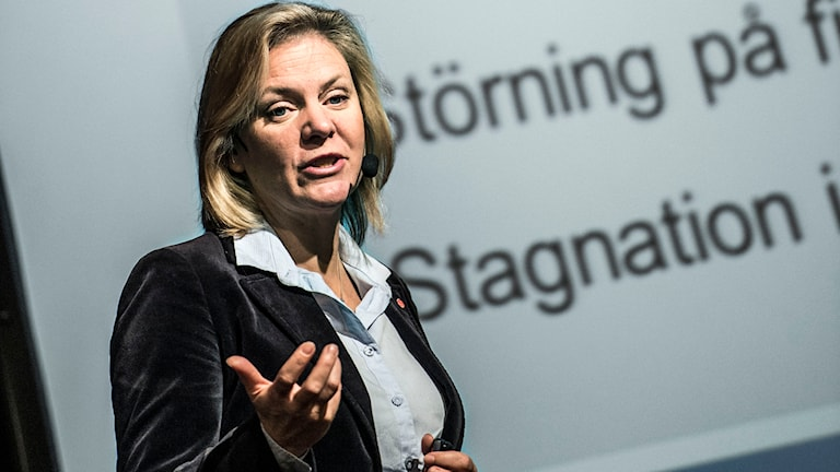 Finansminister Magdalena Andersson. Foto: Lars Persson/TT.