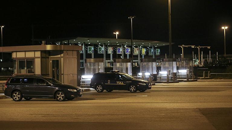 Bezahlpunkt an der Öresundbrücke Foto: Andreas Hillergren/TT.