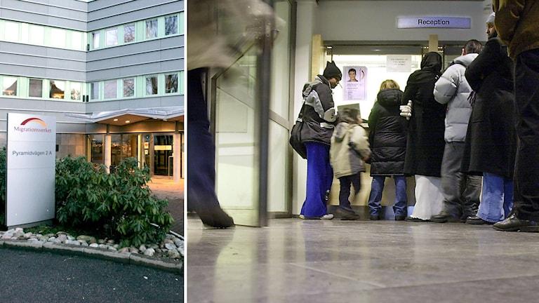 Migrationsverket i Stockholm. Arkivfoto: Björn Larsson Ask, Bertil Ericson /TT