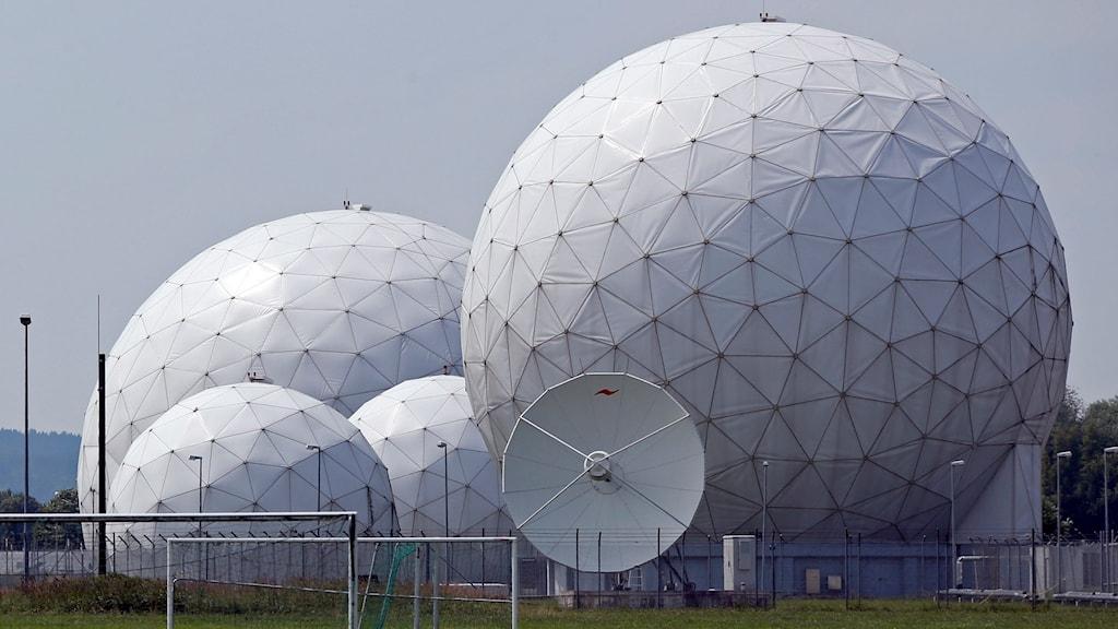 Tyska underrättelsetjänstens område nära München. Foto: Matthias Schrader/TT