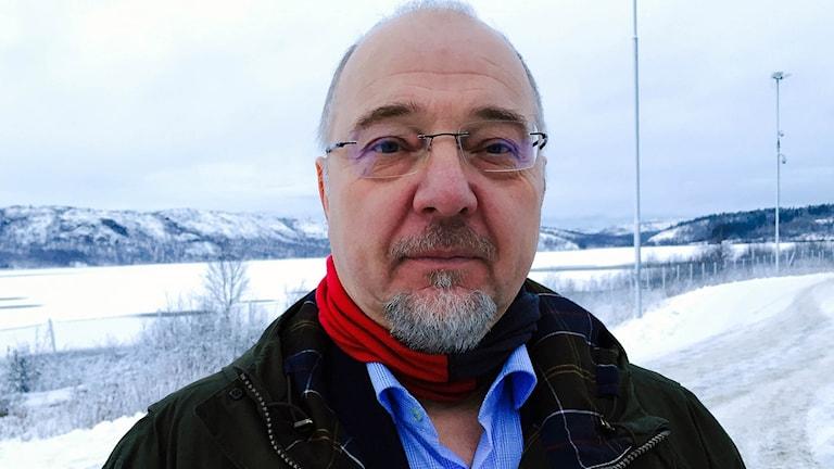Rune Rafaelsen kommunstyrelseordförande i Sör-Varanger. Foto: Jens Möller/Sveriges radio
