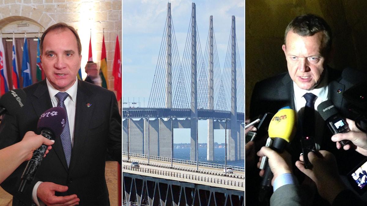 Stefan Löfven, Öresundsbron och Lars Lökke Rasmussen