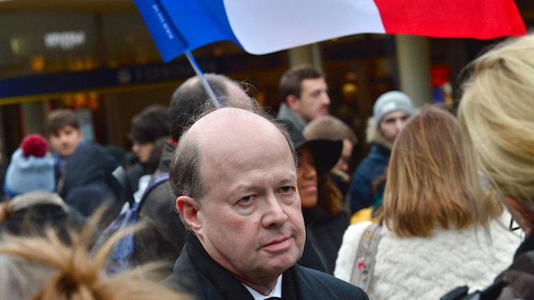 Frankrikes ambassadör i Sverige Jacques Lapouge