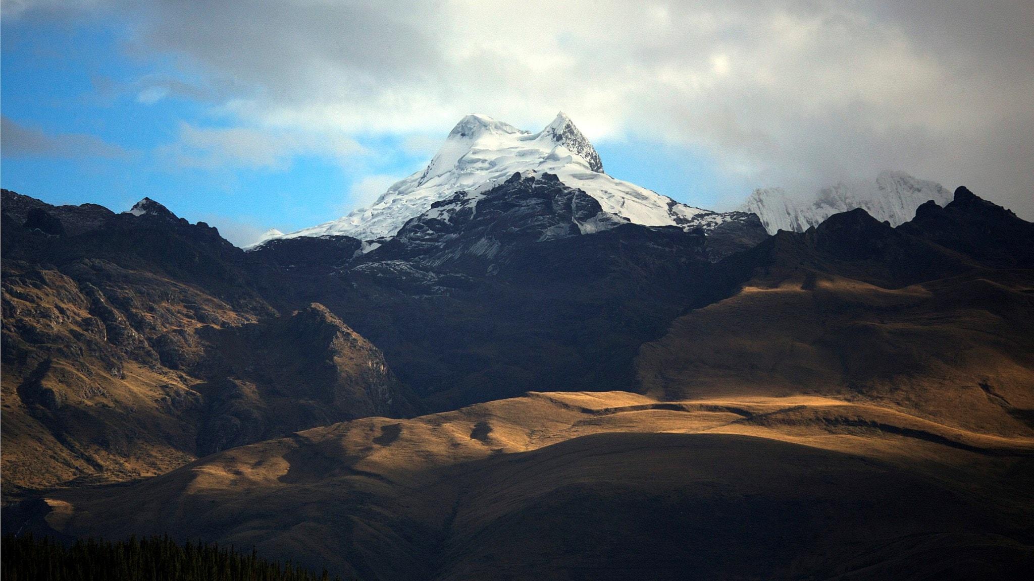 Bergstopp i Anderna i Peru. Foto: Rodrigo Abd/TT.