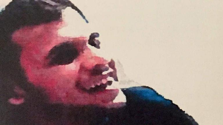 Mutar Muthanna Majid,, mannen som har anhållits i sin frånvaro. Foto: SVT.