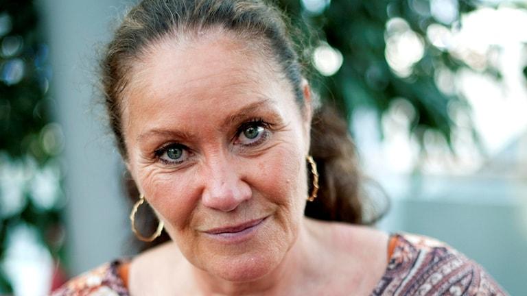 Friidrottsstjärnan Linda Haglund är död, 59 år gammal. Foto: TT.