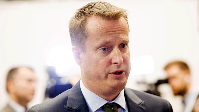 Inrikesminister Anders Ygeman. Foto: Henrik Montgomery/TT.