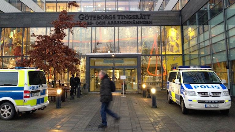 Göteborgs tingsrätt. Foto: Erica Hedin/ Sveriges Radio