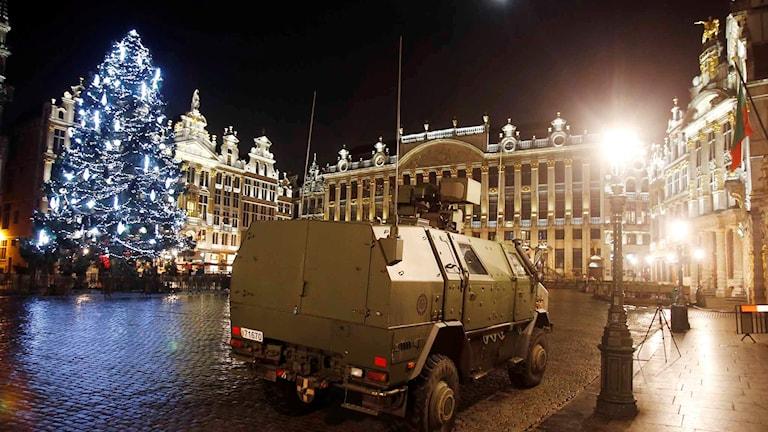 Grand Place i Bryssel. Foto: Michael Probst/TT.