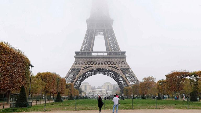 Eiffeltornet i Paris. Foto: Jacques Brinon/TT.