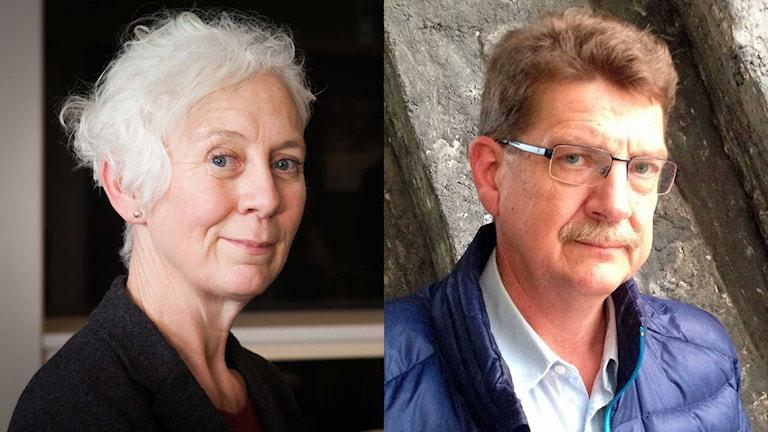 Annika Digréus, Michael Tjernström. Foto: Pablo Dalence/Annika Digréus/Sveriges Radio.