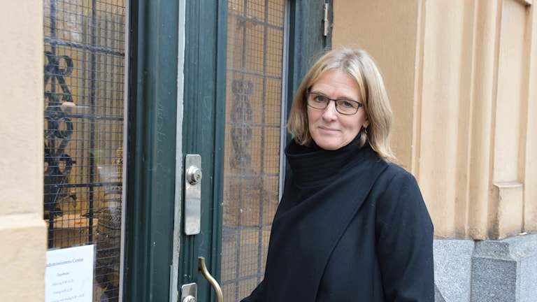 Marika Markovits, Stockholms Stadsmission Foto: Maria Repitsch/ Sveriges radio
