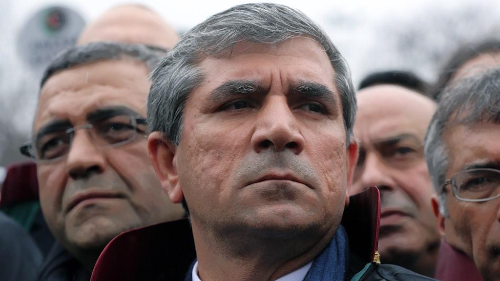 Advokaten Tahir Elçi, var en förespråkare för kurdiska rättigheter. Foto: Burhan Ozbilici/AP