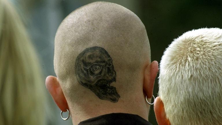 Det högerextrema vålder ökar i Tyskland. Foto: Roland Weihrauch/TT.