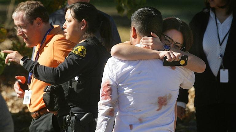 Flera döda i ett nytt skottdåd i San Bernardino, USA Foto:  David Bauman/ AP