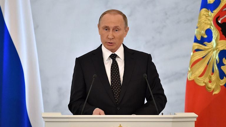 Rysslands president Vladimir Putin. Foto: Krill Kudryavtsev/TT.