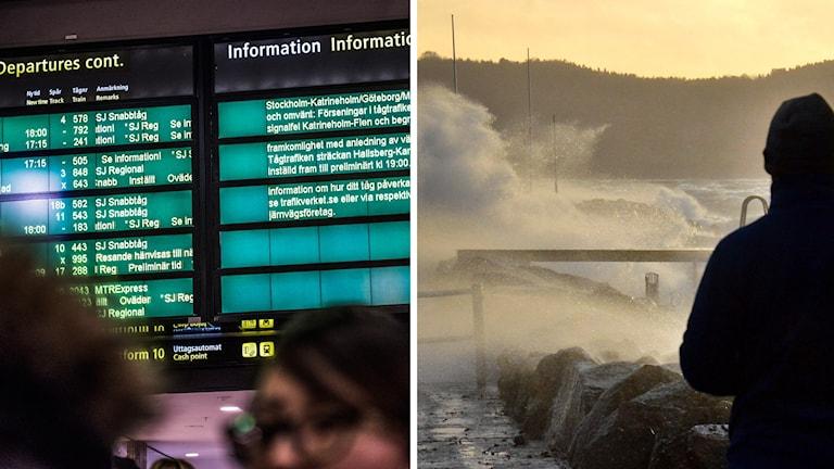Storm tågtrafik
