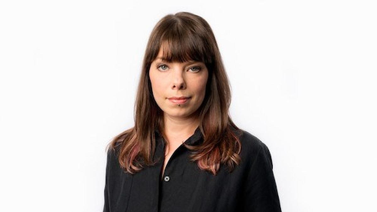 Thella Johnson, Sveriges radios korrespondent i Helsingfors. Foto: Mattias Ahlm/Sveriges Radio