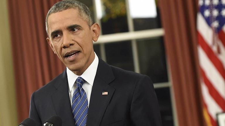 USA:s president Barack Obama. Foto: Saul Loeb/TT