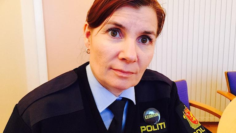 Ellen Katrine Hætta är polis polismästare i norska Finnmark