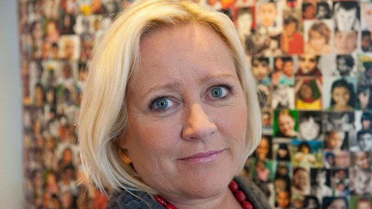Elisabeth Dahlin, Rädda barnens generalsekreterare.