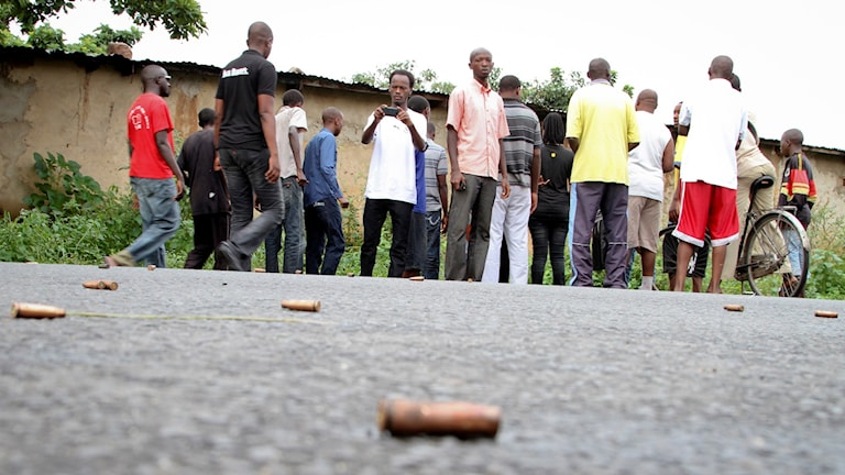 40 personer har dödats i Burundi. Foto: STR/AP