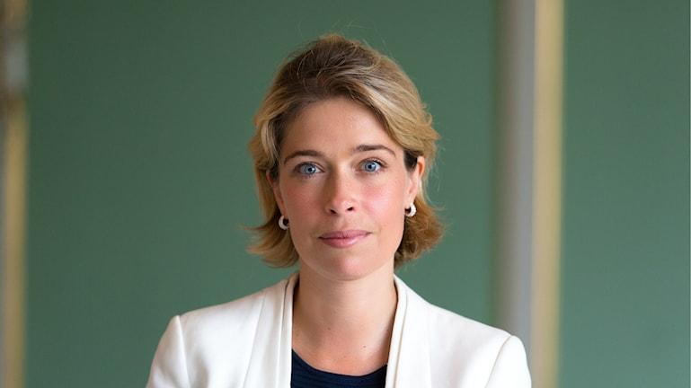 Socialförsäkringsminister Annika Strandhäll vill lära av hur Nederländerna fått ned sina sjuktal. Foto: Victor Svedberg