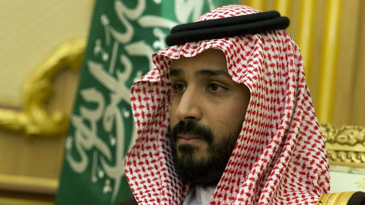 Saudiarabiens försvarsminister Mohammed bin Salman. Foto: Kenzo Tribouillard/TT.