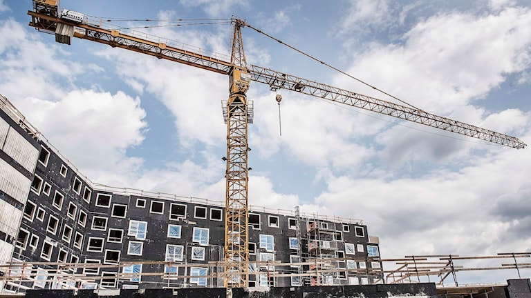 More construction is needed to ease the shortage, the government says. Photo: Tomas Oneborg / TT.