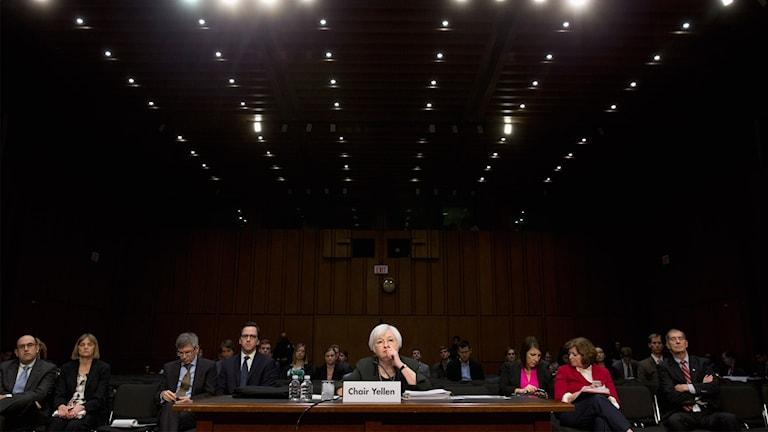amerikanska centralbanken Janet Yellen