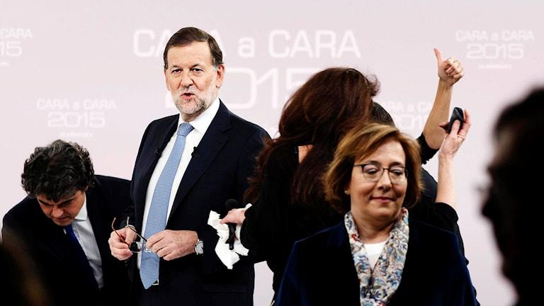 Premiärminister Mariano Rajoy. Foto: Daniel Ochoa de Olza