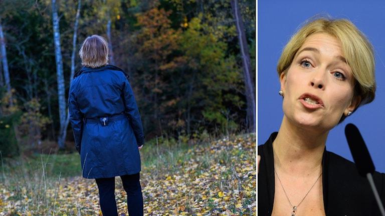 Socialförsäkringsminister Annika Strandhäll. Foto: TT.