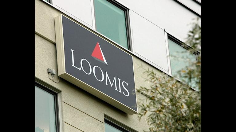 Värdetransportföretaget Loomis huvudkontor i Solna. Foto: Bertil Ericsson/TT