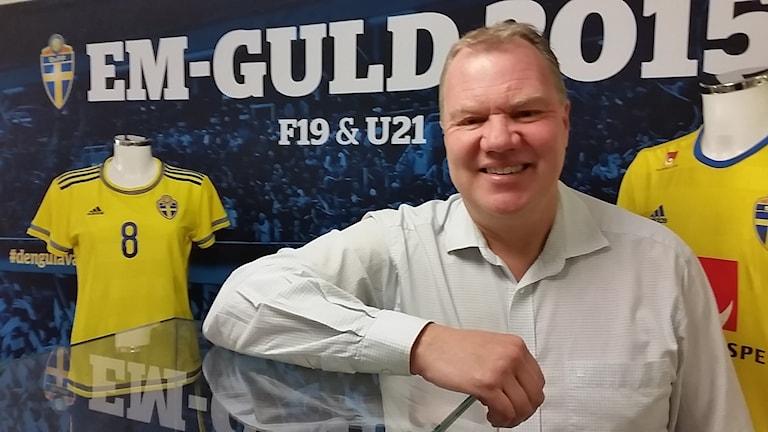 Svenska fotbollförbundets ordförande är nöjd med fotbollsåret