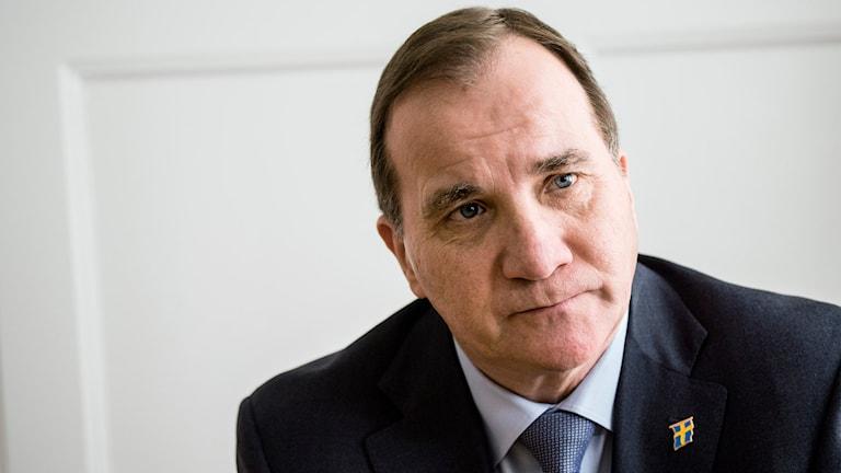 Statsminister Stefan Löfven. Foto: Christine Olsson/TT.