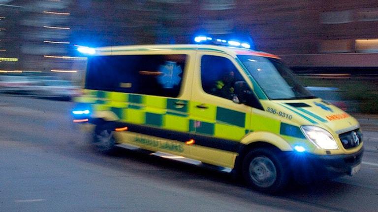 Genrebild ambulans