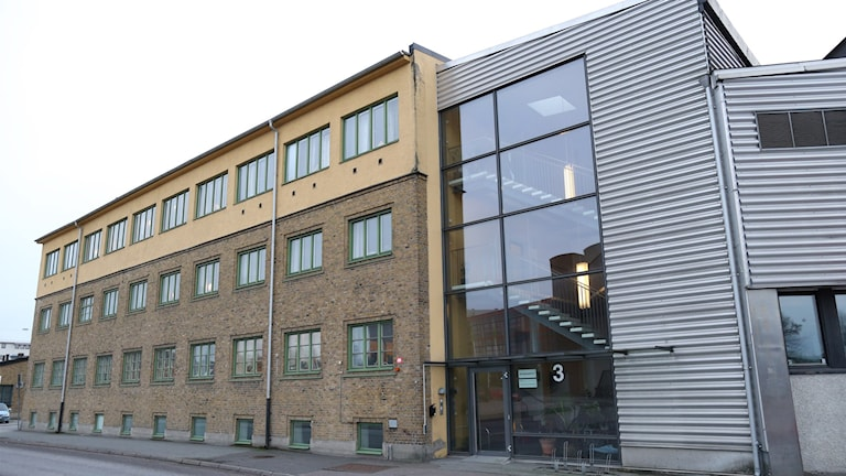 Exteriör av den psykiatrimottagning, som tillhör Sahlgrenska universitetssjukhuset i Göteborg,
