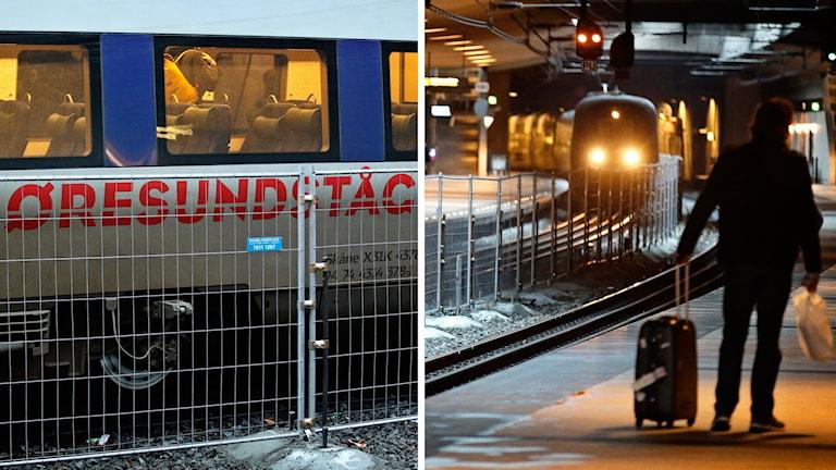 Bahnhof am Flughafen Kastrup Foto: Jens Dresling/TT