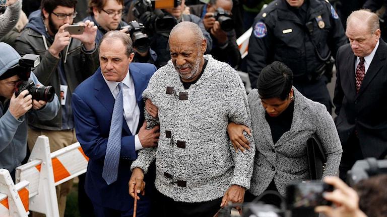 Den amerikanske skådespelaren och komikern Bill Cosby.  Foto:  Matt Rourke/TT.
