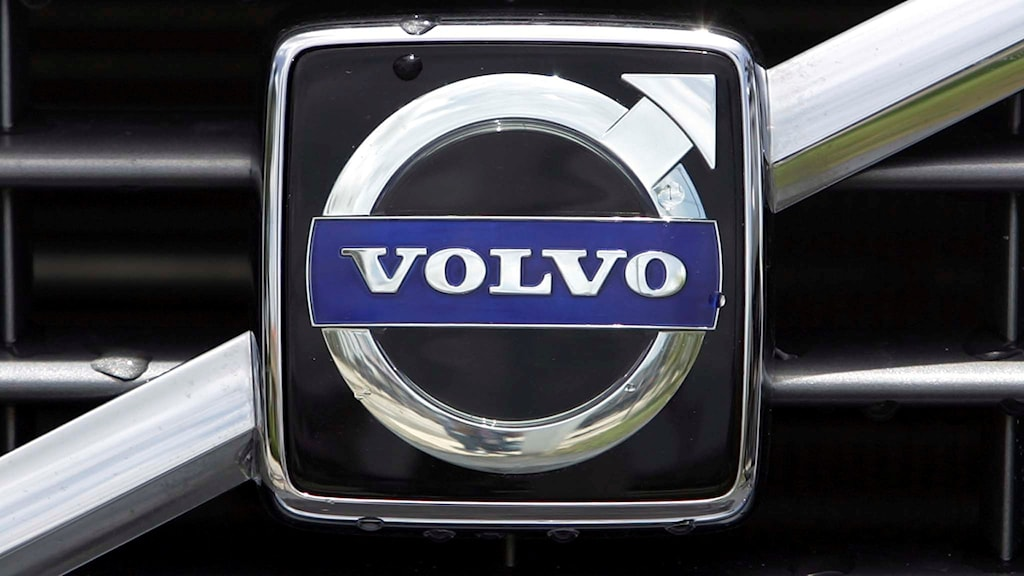 Volvo logotyp. Foto: Alan Diaz/TT.