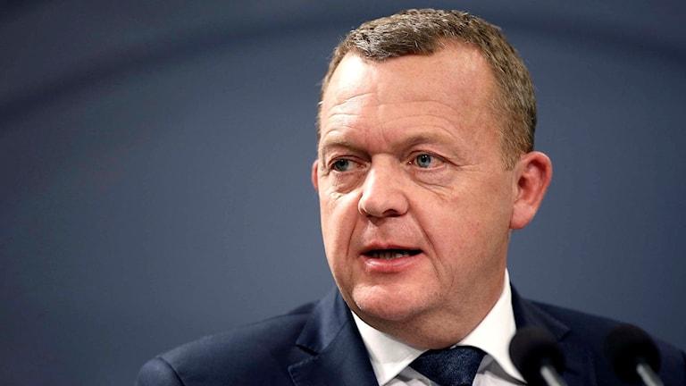 Danmarks statsminister Lars Løkke Rasmussen. Foto: Stine Bidstrup/TT.
