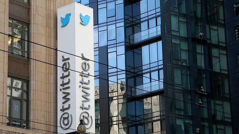 Twitters högkvarter i San Francisco.