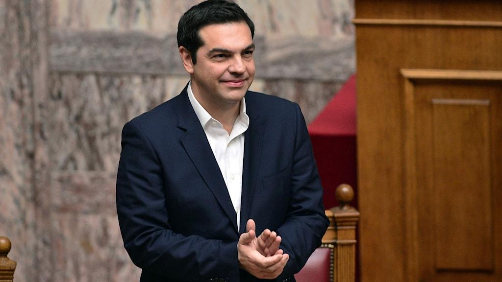 Greklands premiärminister Alexis Tsipras. Foto: Louisa Gouliamaki/TT.