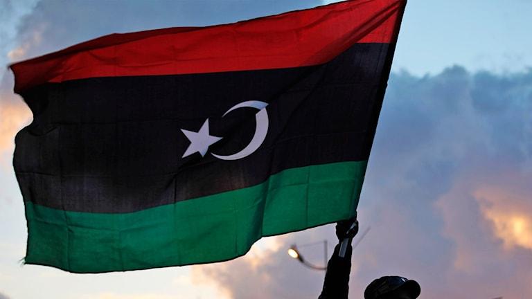 Libyska flaggan