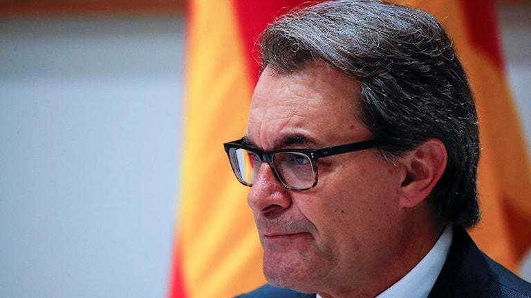 Kataloniens regionpresident Artur Mas. Foto: Emilio Morenatti/TT.