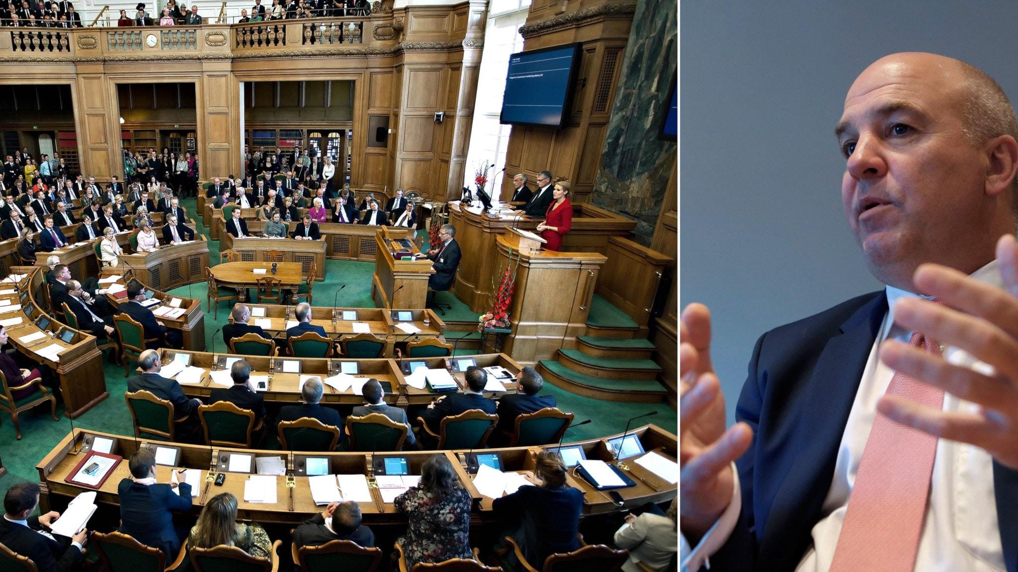 Danska s vill skarpa asylpolitiken